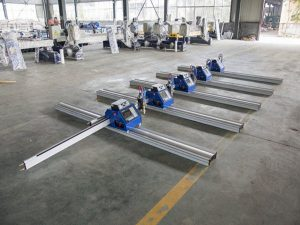 180W դյուրակիր CNC պլազմային կտրող մեքենա հաստ մետաղի կտրման համար 6 - 150 մմ
