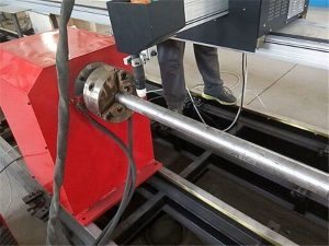 2017 Նոր դյուրակիր տիպ Պլազմային մետաղական խողովակների կտրիչ մեքենա, CNC մետաղական խողովակների կտրող սարք