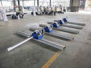 2 * 3 մ շարժական Չինաստանը պատրաստեց փոքր էժան ցածր գնով cnc պլազմային կտրող սարք