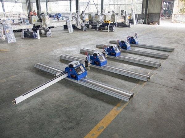 23M շարժական Չինաստանը պատրաստեց փոքր էժան ցածր գներով cnc պլազմային կտրող սարք