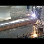 CNC 3 առանցքի պլազմային բոցով խողովակի պտտվող խողովակի պողպատ կտրող մեքենա