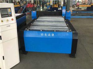 Չինաստան Huayuan 100A պլազմային կտրող CNC մեքենա 10 մմ ափսե մետաղ