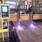 կրկնակի drive gantry cnc պլազմային կտրող մեքենա ճառագայթների արտադրության գծի հիպերտերմային CNC համակարգ