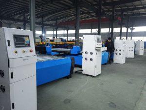 թերթ մետաղական կտրող մեքենա / CNC պլազմային կտրիչ էժան 1325 գին