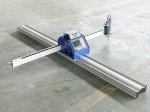 ցածր գնով փոքր պողպատե ափսե cnc պլազմային բոց կտրող մեքենա