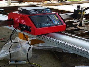 cnc դյուրակիր թվային կտրող մեքենա / մետաղական պլազմային կտրող սարք
