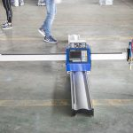 նոր տեխնոլոգիական միկրո սկիզբ cnc մետաղական կտրող / շարժական CNC պլազմային կտրող մեքենա