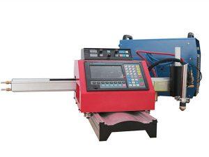 Թթվածնի ացետիլենային CNC պլազմային կտրող մեքենա ջահի մալուխի կրիչով 220V 110V