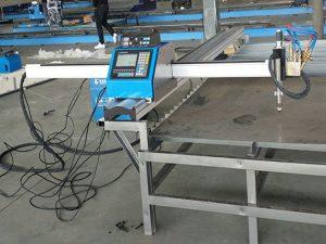 շարժական CNC պլազմային կտրող մեքենա տնտեսական գնի մետաղի կտրող մեքենա