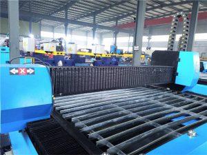 Գործնական և տնտեսական բարձր ճշգրտության / արդյունավետության մետաղի մշակման մեքենա / շարժական CNC պլազմային կտրող սարք zk1530