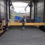 ճշգրիտ cnc պլազմային կտրող մեքենա ճշգրիտ 13000 մմ սերվով շարժիչով