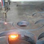 ce Հաստատված Ֆլեյմի ջահը դյուրակիր CNC պլազմային կտրող մեքենա Չինաստանի գործարանում