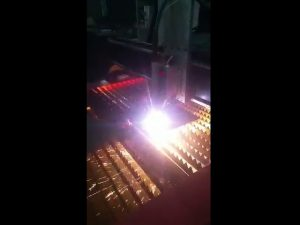 արդյունաբերական cnc պլազմային կտրող մեքենա `մատակարարելով բարձրորակ պլազմային ուժ