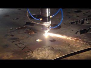 պատրաստված է Չինաստանում առևտրի ապահովման մեջ էժան գնի դյուրակիր կտրիչ CNC պլազմային կտրող մեքենա չժանգոտվող պողպատից մետաղական երկաթի համար