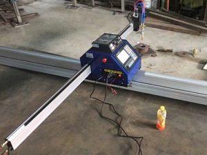 փոքր cnc ափսեի պլազմային կտրող մեքենա 1530 Դյուրակիր CNC Metal PlasmaFlame թերթ մետաղական կտրող մեքենա Դանակ