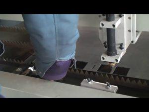 մետաղի հաստ 22 25 սմ 200 Ա CNC պլազմային կտրող մեքենա